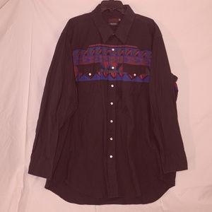 Nice Winchester 3XL LS western button shirt EUC